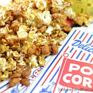 Light Caramel Popcorn.