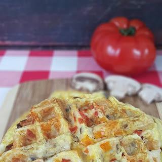 Breakfast Sandwich Waffle.