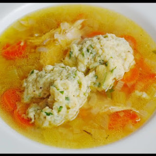 Chicken Soup with Butter Dumplings