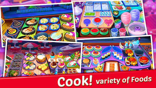 Crazy My Cafe Shop Star - Chef Cooking Games 2020 apkpoly screenshots 16