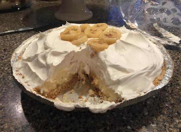 Sue's Banana Cream Pie Recipe