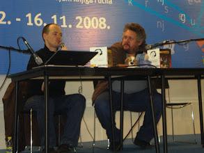 Photo: Zoran odgovara na neko Macanovo provokativno pitanje