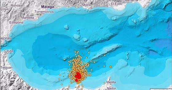 Alborán registra 2.300 terremotos en solo cinco meses tras un intenso agosto