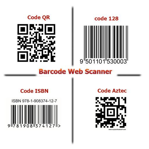 Barcode Web Scanner- screenshot