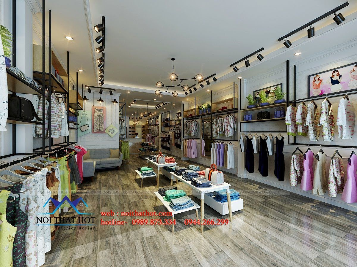 thiết kế shop thời trang nữ Bi's Boutique 5
