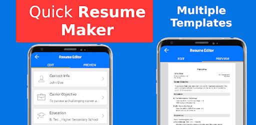 Resume Maker | Top Resume Maker Freshers Experienced Cv Pdf Apps On Google Play