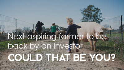 We have an investor ready to back an aspiring farmer | Could that be you?