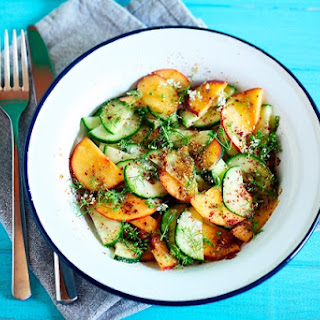 Cucumber Salad With Fruits