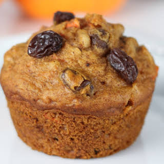 Pumpkin Morning Glory Muffins.