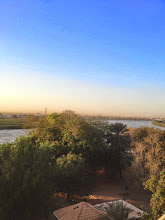 Photo: The Blue & White Niles meeting point