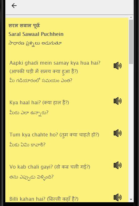 Telugu to English Speaking - English in Telugu - Apps on ...