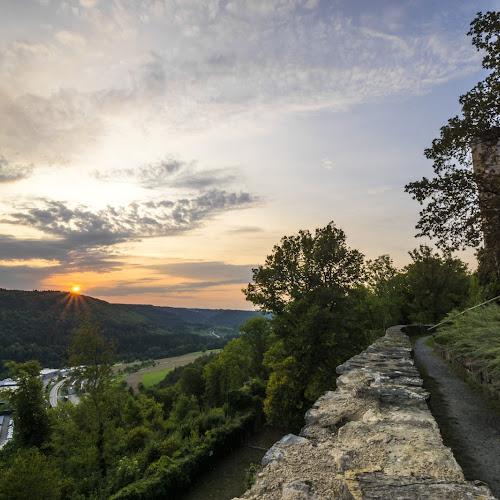 Ausblick von der Burg Hohennagold Richtung Walddorf