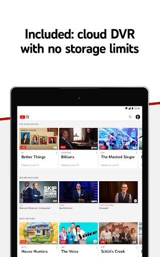 YouTube TV - Watch & Record Live TV 4.33.3 Screenshots 9