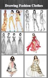 Kreslení módní oblečení - náhled