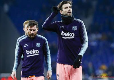 """Quand Gerard Piqué tente de mettre la pression sur le Real Madrid : """"Sont-ils déjà parvenus à gagner quatre matchs d'affilée ?"""""""