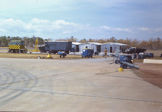 Photo: The Working area for the 74 Sqn detachment at Darwin.