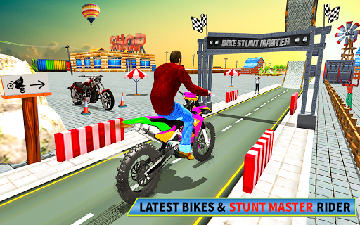 Bike Stunt Racing 3D - Moto Bike Race Game screenshot 8
