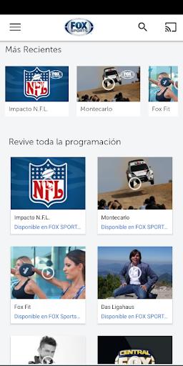 FOX Sports Latinoamu00e9rica 9.1.5 Screenshots 4