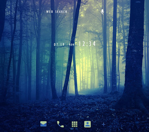 Misty Forest +HOME Theme