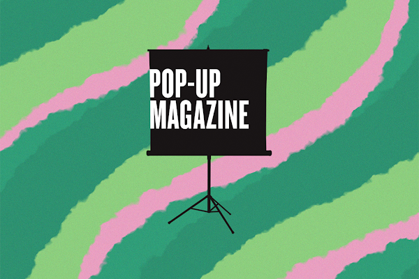 Pop-up Magzine logo