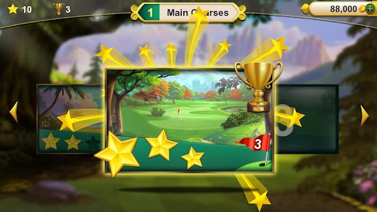 Golf Solitaire - Green Shot