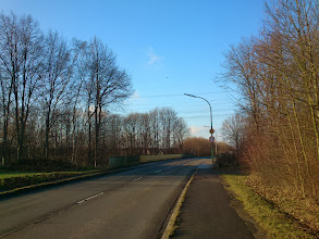 Photo: Steinsweg, Oespel, 20.12.13