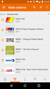 Public Radio & Podcast- screenshot thumbnail