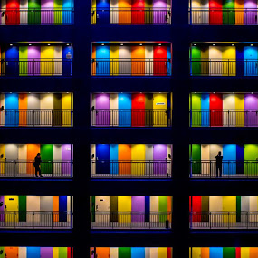 Full of Hue!  by Irvan Junizar - Buildings & Architecture Other Exteriors ( beautiful, art, artistic, photography, colorful, building )