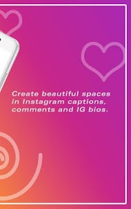 GramSpacer: Add Spaces in Captions and Bios 3