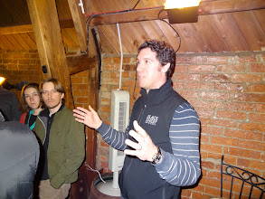Photo: Jo Theakston, co-owner of Black Sheep, gave us great insight into the history of the traditional English brewery.