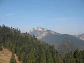 Photo: 14.Trzy Korony (982 m) prezentują się stąd bardzo zacnie.
