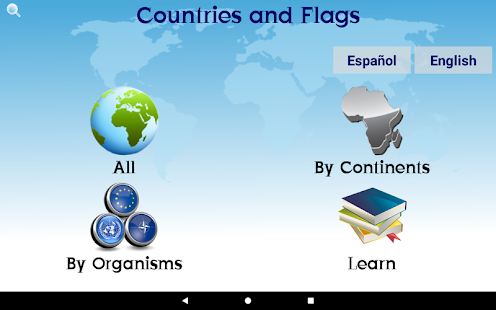 Countries and Flags- screenshot thumbnail
