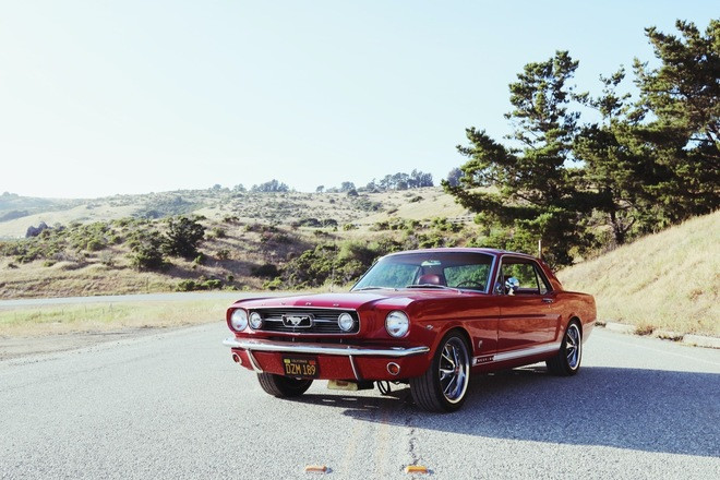 1966 Ford Mustang GT Hire California