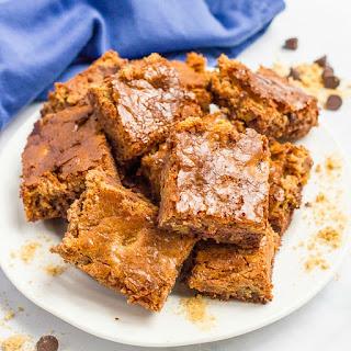 4-ingredient Chocolate Chip Brownies.
