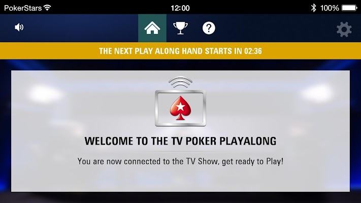 TV Poker Play Along PokerStars - screenshot