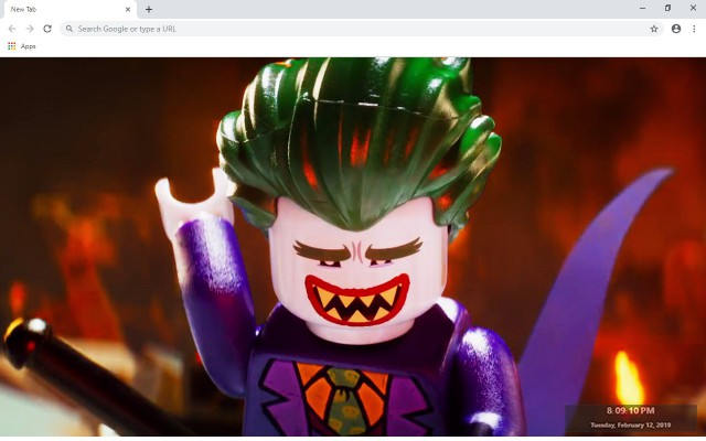 The Lego Movie New Tab Theme