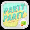 (FREE) GO SMS PARTYPARTY THEME icon