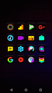 Neon Glow – Icon Pack v8.2.0 3