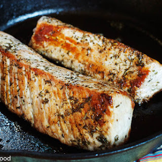 Herbed Pork Tenderloin.
