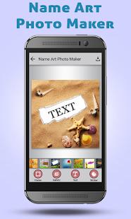 Name Art Photo Maker - náhled