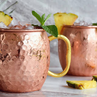 Pineapple Moscow Mule.