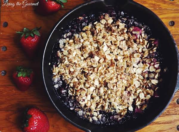 Mixed Fruit Crumble Recipe