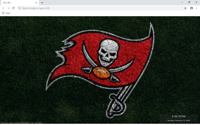 NFL Tampa Bay Buccaneers New Tab