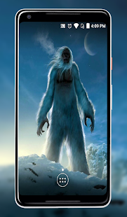 Bigfoot and Yeti Wallpaper - náhled