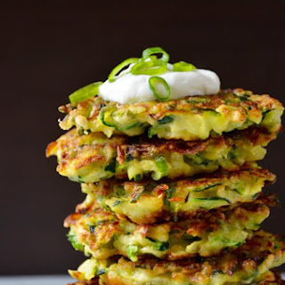 5-Ingredient Zucchini Fritters