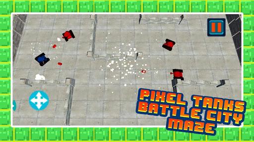 ピクセル戦車のファイト – モーターラビリンス3D