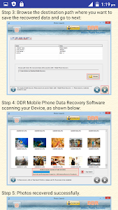 Mobile Phone Data Recovery HLP screenshot 4