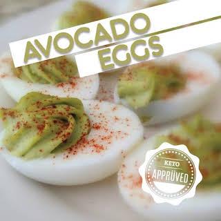 Avocado Eggs.