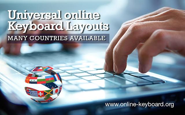 Universal keyboard layout online