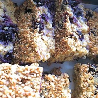 Blueberry and White Chocolate Flapjacks Recipe